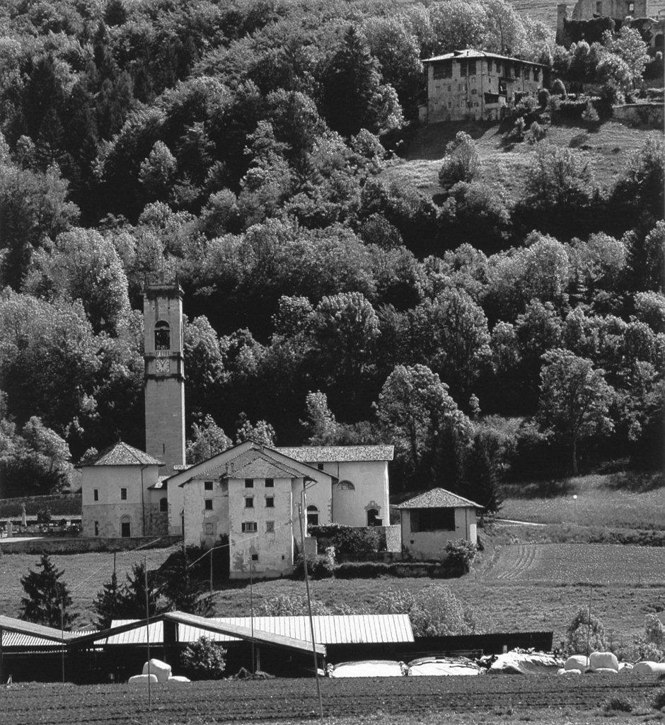 Vigo Lomaso,Chiesa di San Lorenzo, veduta