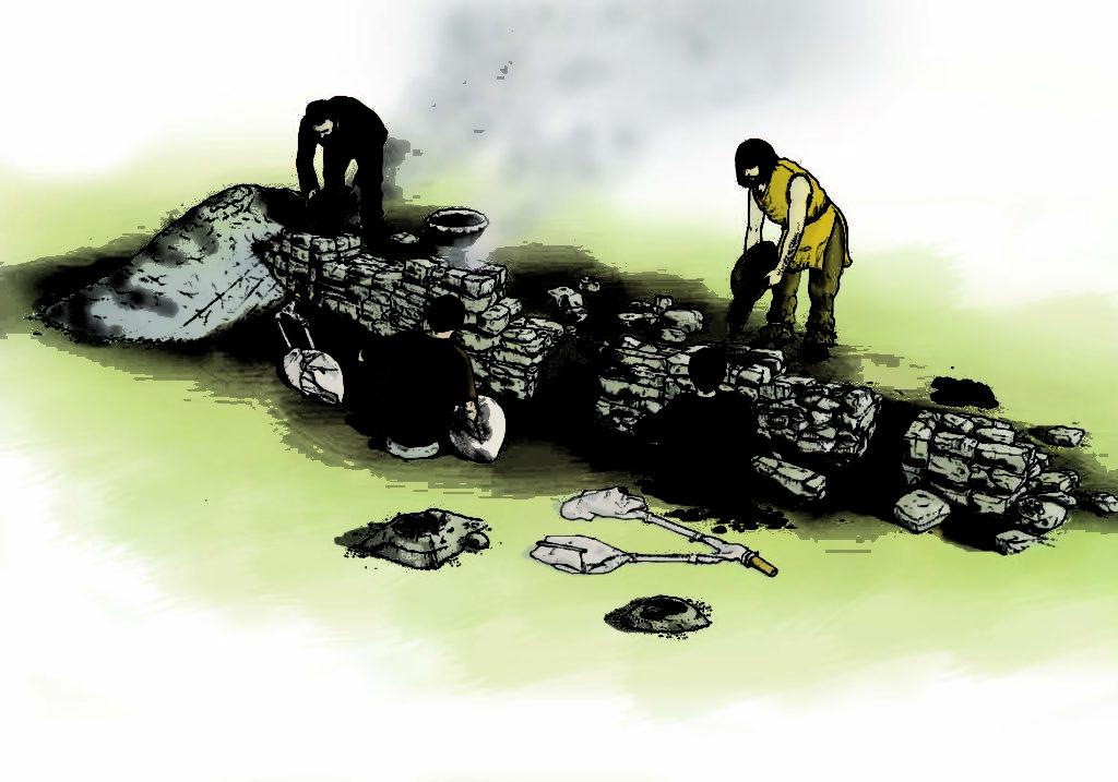Acqua Fredda. Disegno di Livio Stefan