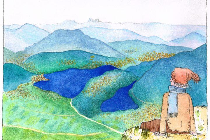 Del Trentino amo la tridimensionalità. paesaggi d'acqua, boschi e montagne azzurre