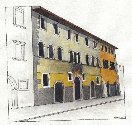 1. Palazzo A Prato, Sec. XVI, Via Maier 15,17,19