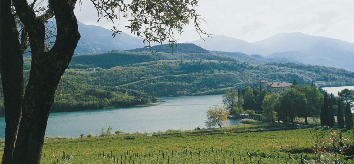 lago Toblino vigneti vino santo