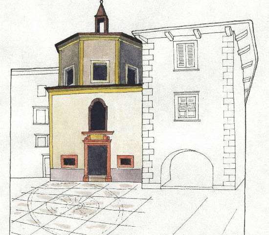 11. Chiesa di S. Elisabetta, 1633, Piazza S. Elisabetta