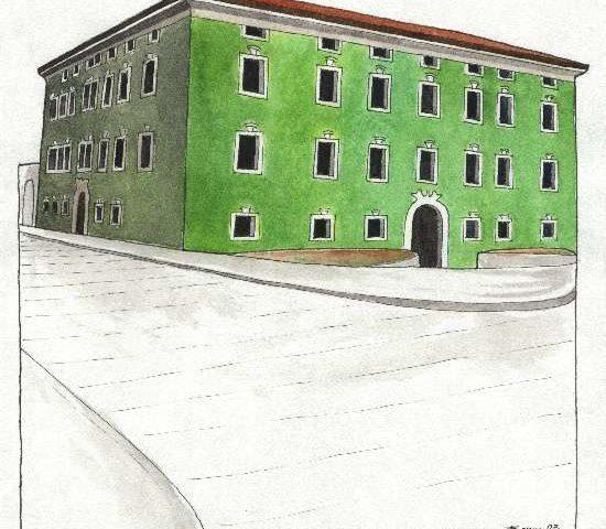 17. Palazzo Tomelin, Piazza Gavazzi 5, Sec. XVIII