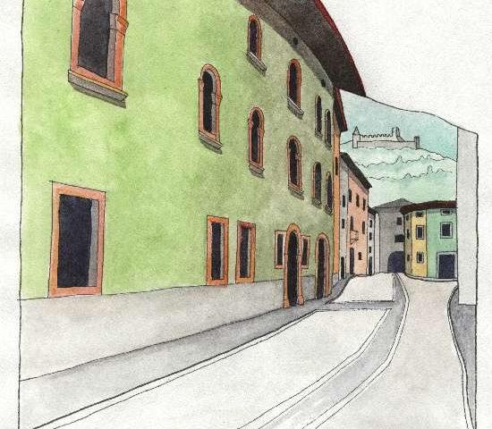 20. Quartiere di borgonuovo (oggi via Pennella)