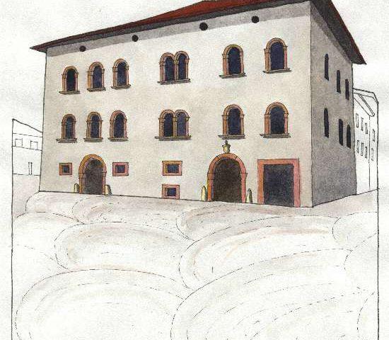 4. Palazzo Gramatica, Sec. XVI, piazza del Municipio