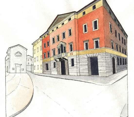 6. Palazzo Montel, ristrutturazione del 1847, Via Filzi 2