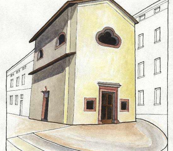 9. Chiesa di S. Antonio, risalente al sec. XI sopraelevata nel 1490, via Cesare Battisti