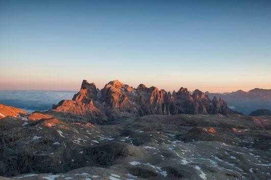 Geotrekking sulle Dolomiti