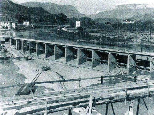 fabbrica Montecatini Alumetal Mori storia