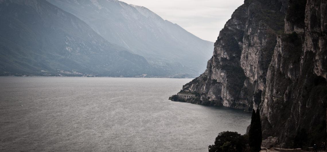 andrea ciambra sentiero ponale lago di Garda