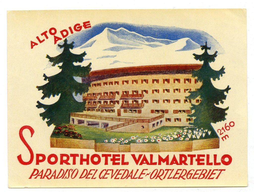 Cartolina d'epoca - Sporthotel (Gio Ponti Archives)