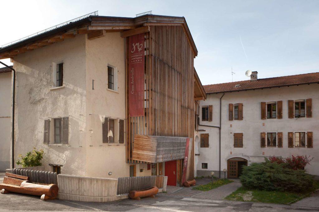 Giacomo Bianchi - Casa Andriollo esterno