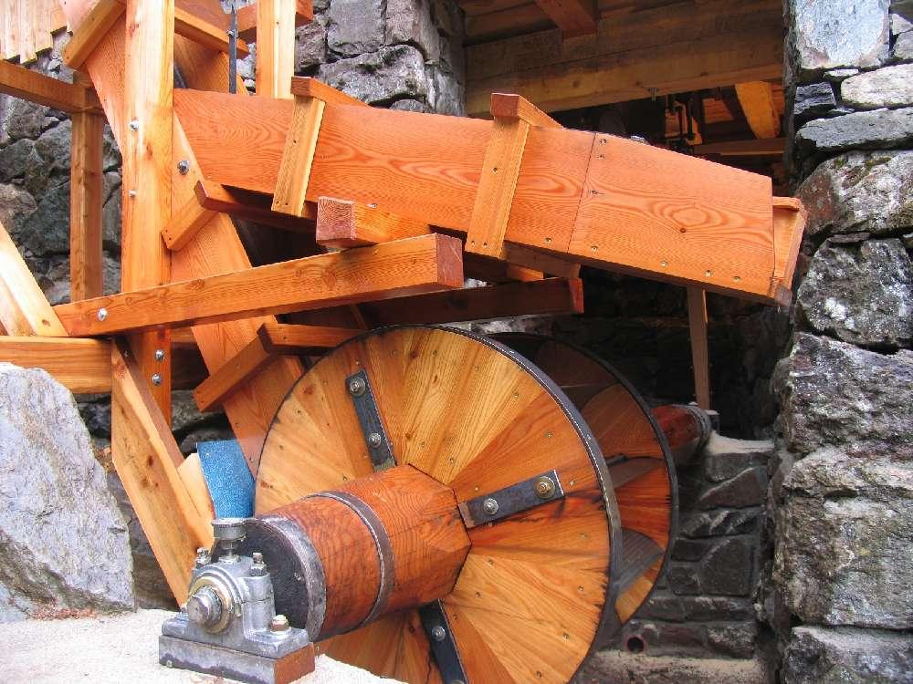 Segheria veneziana - Meccanismo esterno